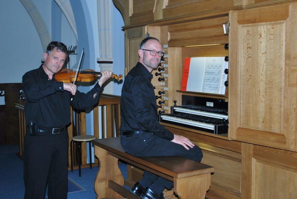 Henk Verhoef en Franc Polman aug 2014