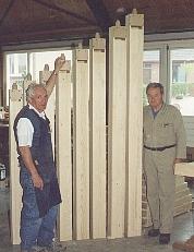 Vrijwilligers bouwen het orgel